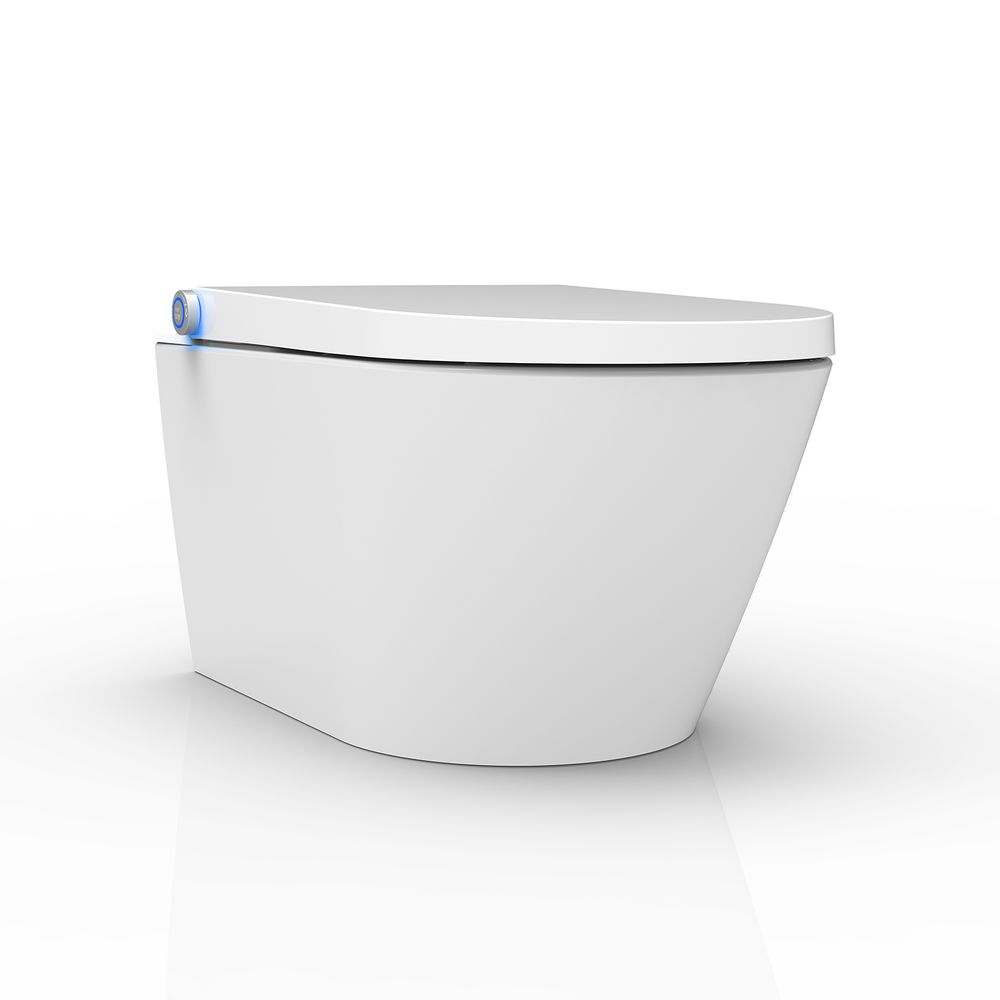 BERNSTEIN DUSCH-WC PRO+ 1102 Shower Toilet with integrated bidet function - white - rimless - japanese WC – Bild 4