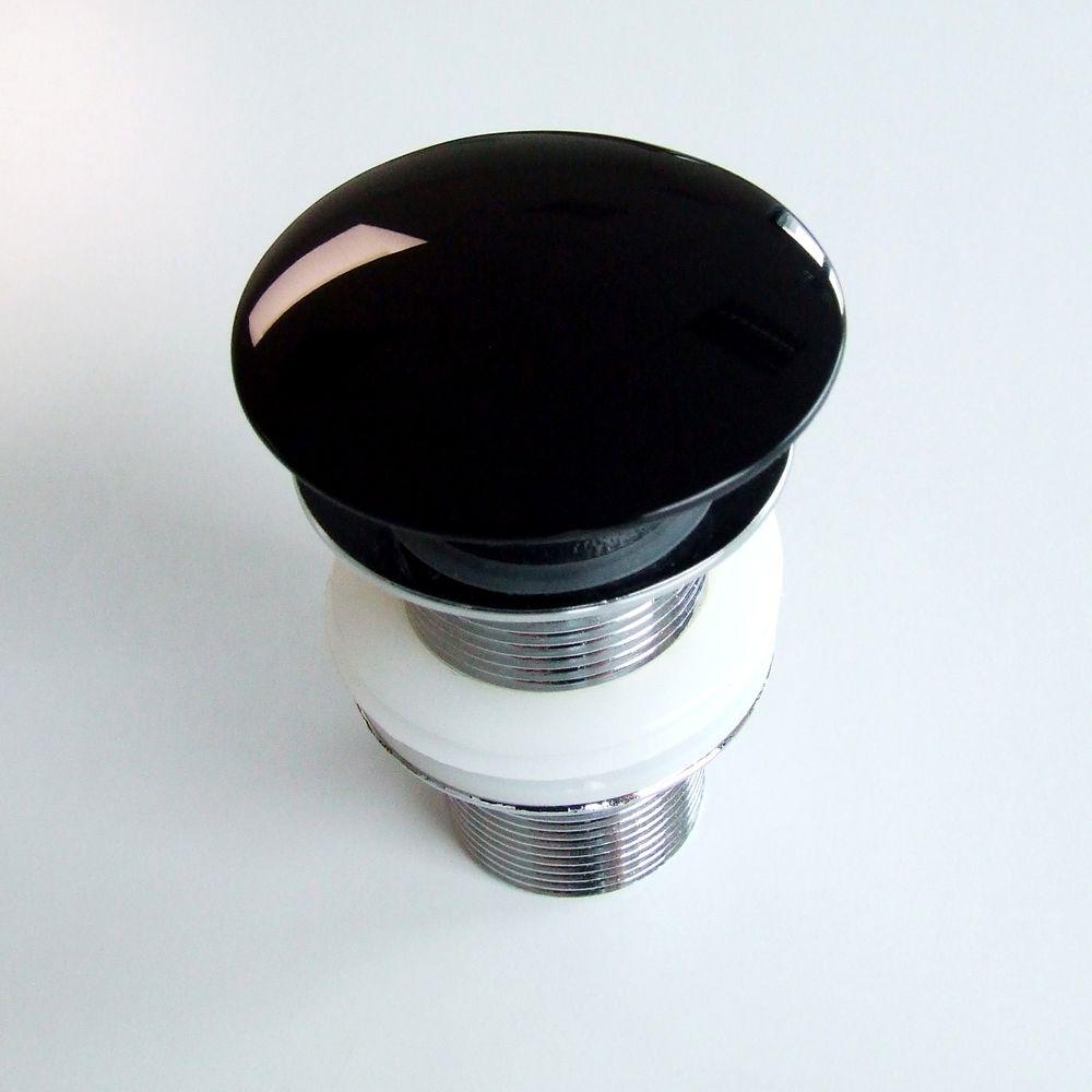 Countertop wash basin PB2133 - mineral cast - glossy black, matt white or  glossy black/white - 54 x 36 x 13 cm – Bild 7