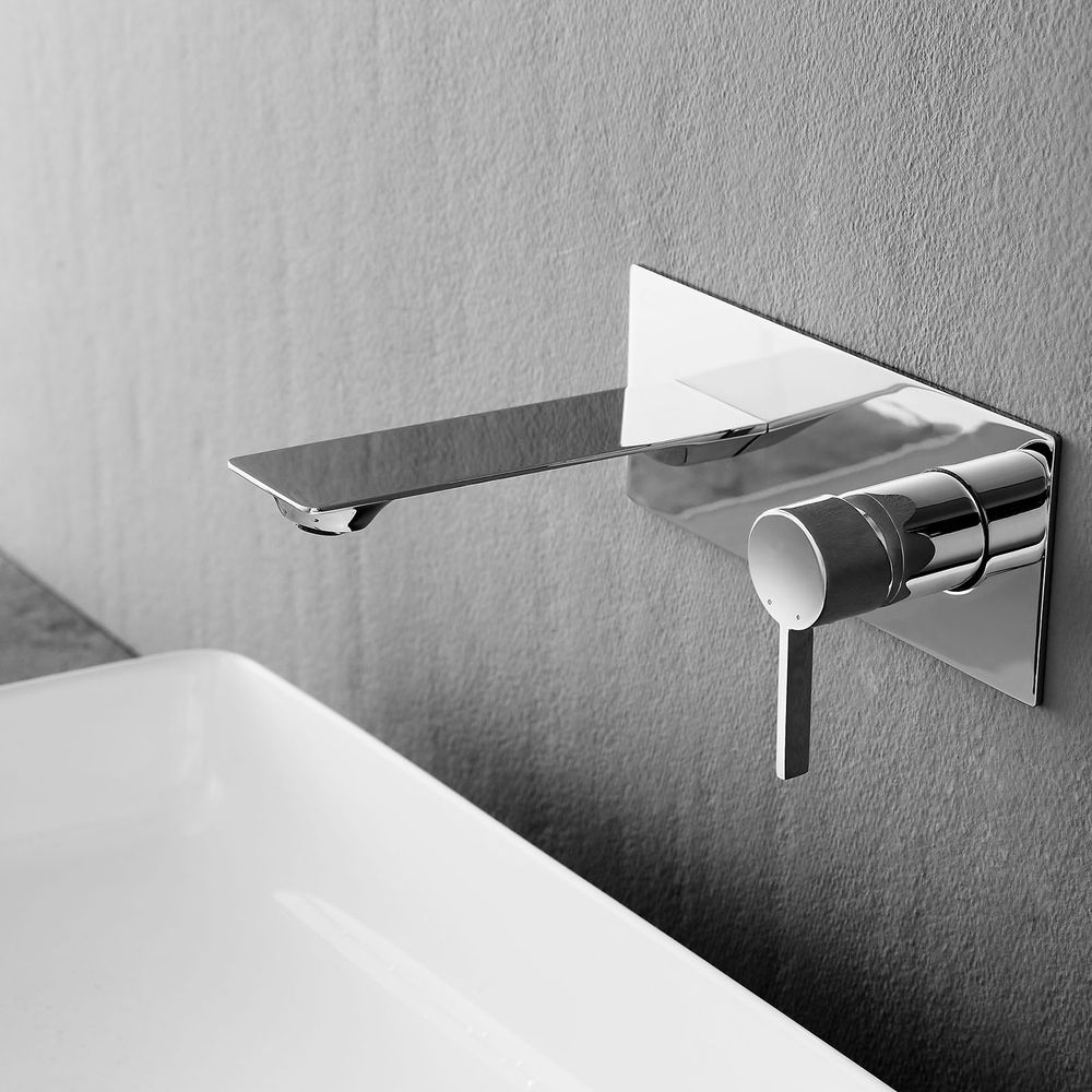 Wall mounted basin mixer NT7120 - with built-in body – Bild 2