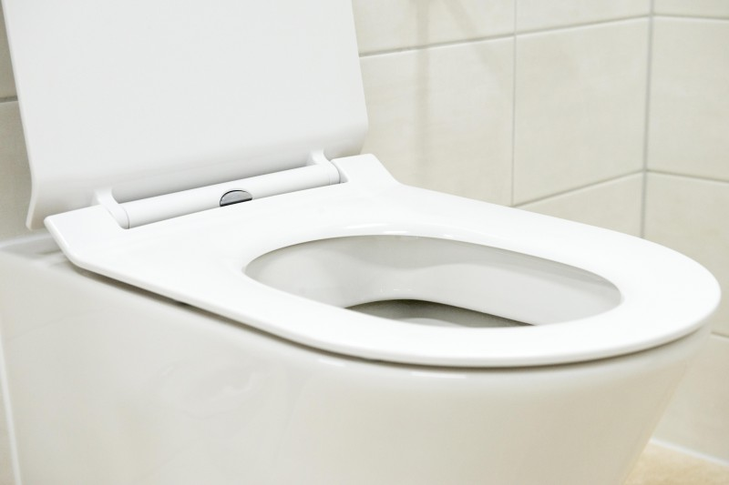 Wall-hung rimless toilet with NANO coating - Soft close toilet seat - B-8030R white – Bild 8