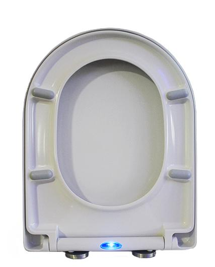 Wall-hung rimless toilet with NANO coating - Soft close toilet seat - B-8030R white – Bild 10