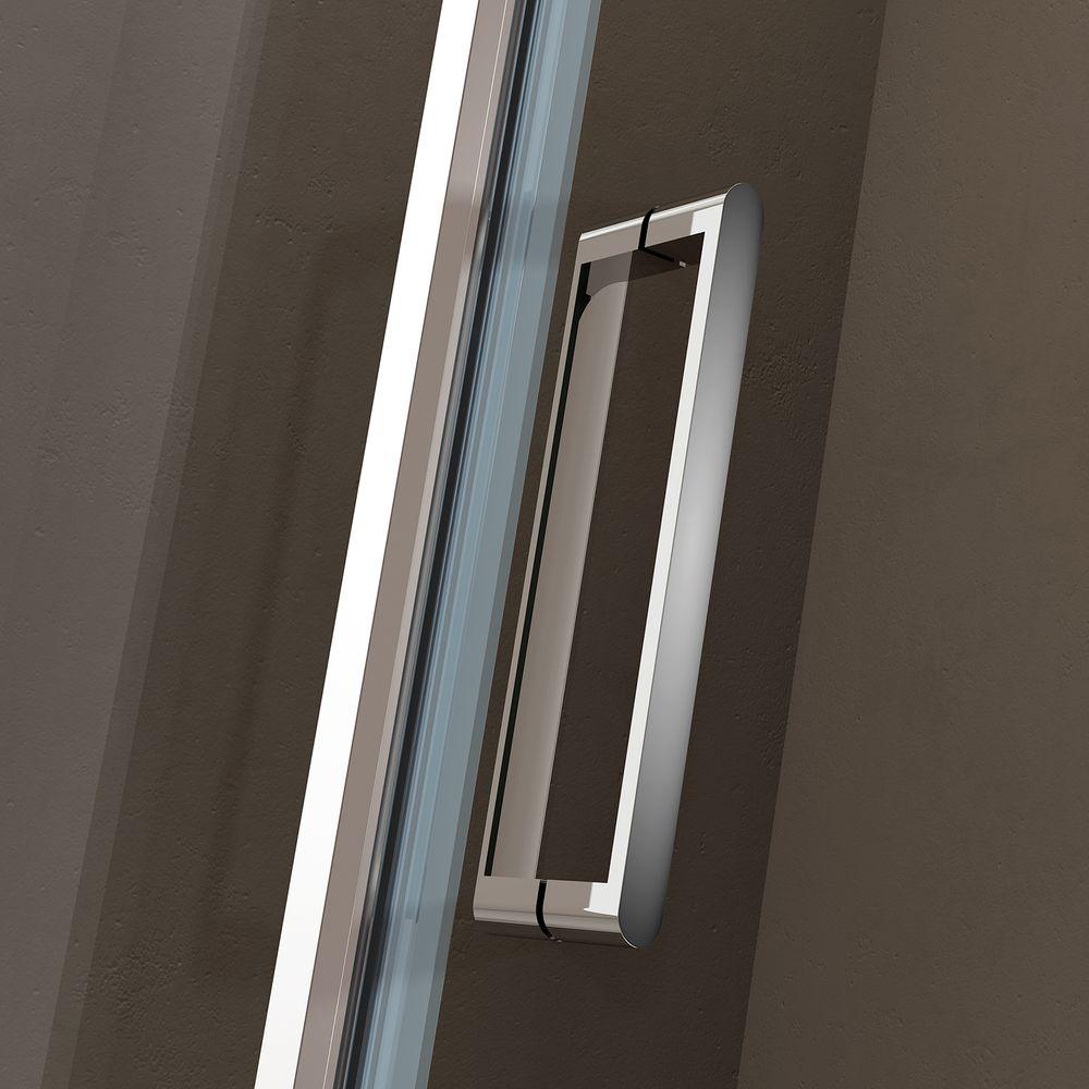 Duschkabine Eckdusche Nano 6mm Echtglas EX416S - 100 x 100 x 195 cm – Bild 4