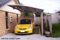 BERNSTEIN Carport Aluminium freistehend - 5400 x 2700 x 2700 mm - Farbe wählbar 001