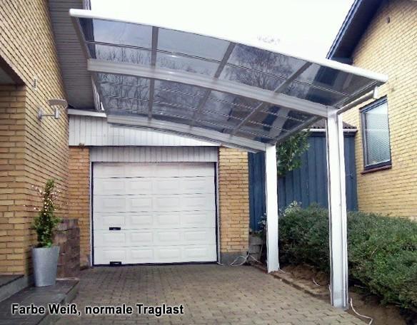 BERNSTEIN Doppelcarport Aluminium freistehend - Farbe wählbar – Bild 5
