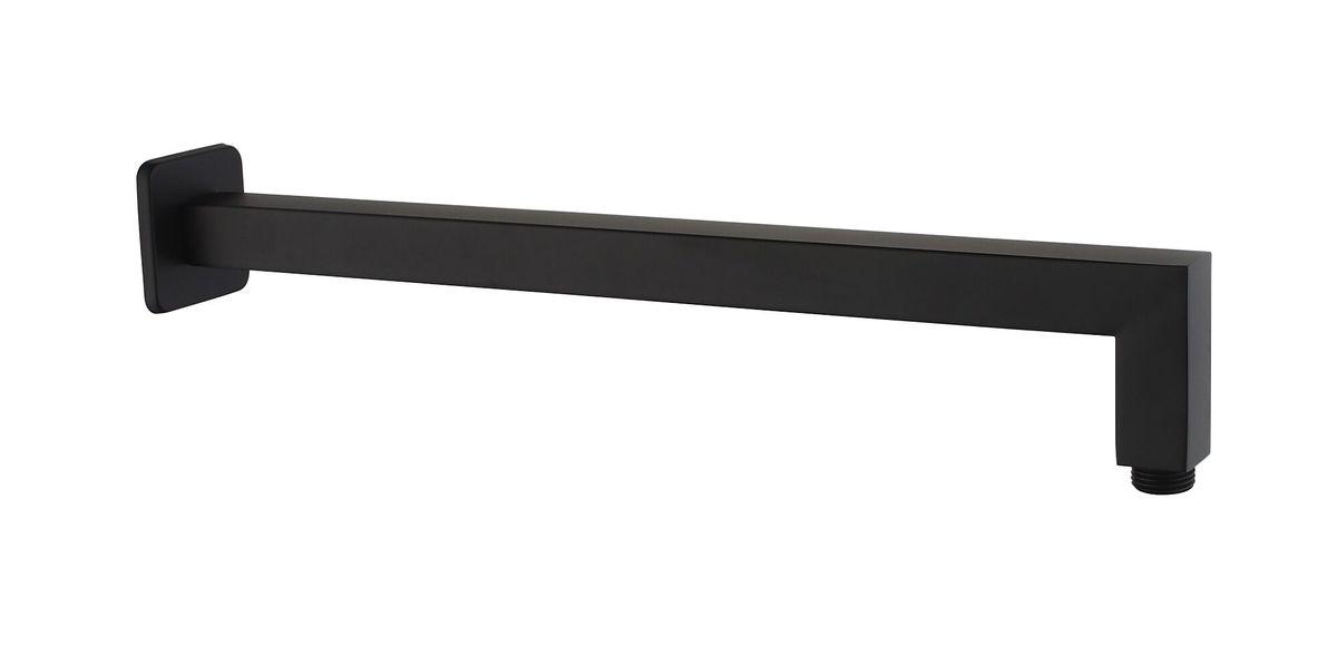 Wall mounted shower arm 40cm black 2605B  – Bild 1