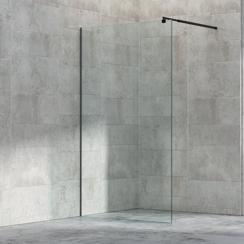 paroi de douche fixe lat rale en verre ex101 hauteur 200cm largeur s lectionnable le monde. Black Bedroom Furniture Sets. Home Design Ideas