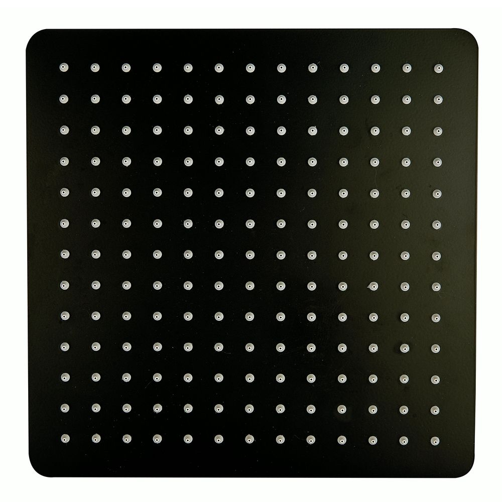 Square Shower Head DPG2005 - 30x30cm - Matt Black – Bild 1