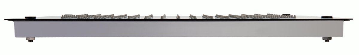 XXL-Regendusche Edelstahl-Deckenbrause DPG5005 superflach in Schwarz - 50 x 50 cm - Deckeneinbau – Bild 3