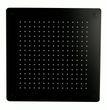Tête de douche carrée, extra-plate en acier inoxydable DPG5005 - 50x50cm - noir 001