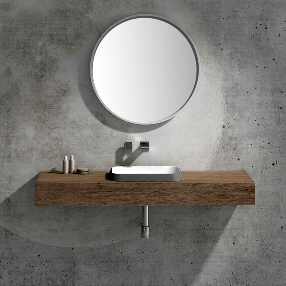 Built-in washbasin NT503 -Two colours available  – Bild 3