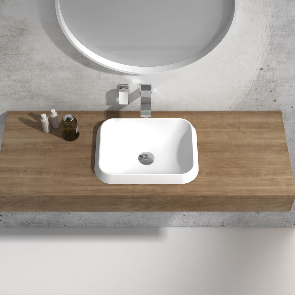 Built-in washbasin NT503 -Two colours available  – Bild 5