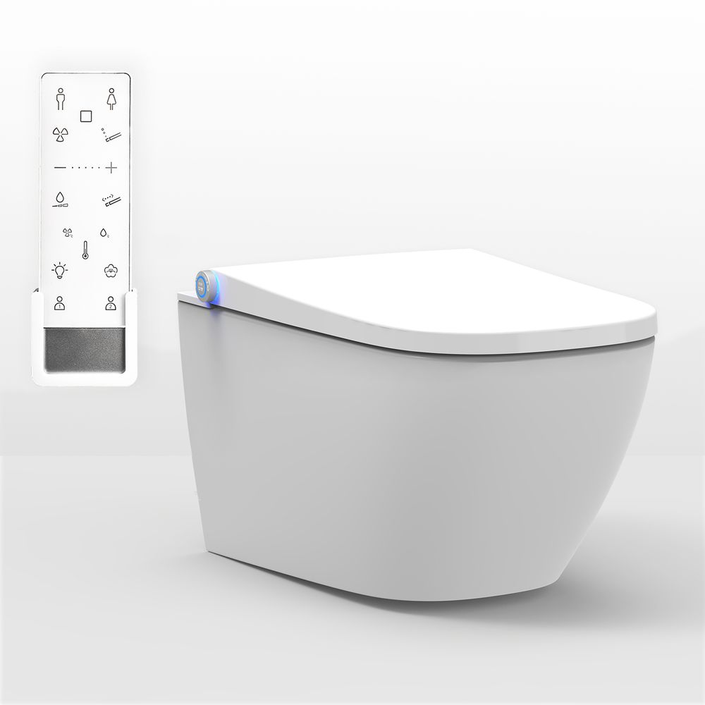 BERNSTEIN Shower Toilet PRO+ 1104  - with integrated bidet function - white - rimless - japanese WC – Bild 1