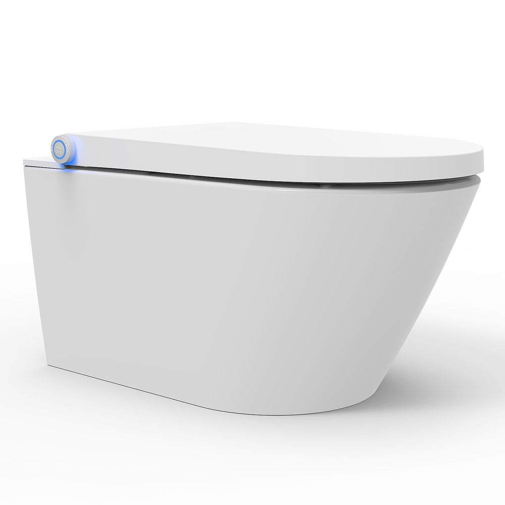 BERNSTEIN Shower Toilet PRO+ 1104  - with integrated bidet function - white - rimless - japanese WC – Bild 9