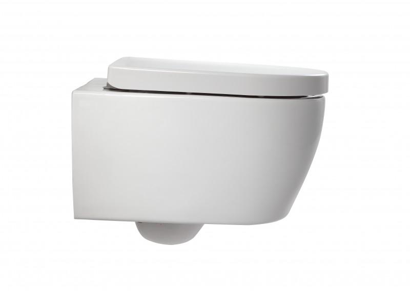 WC-Sparpaket 1: WC NT2038 und Soft-Close Sitz mit Vorwandelement G3004A und Betätigungsplatte vorne – Bild 2