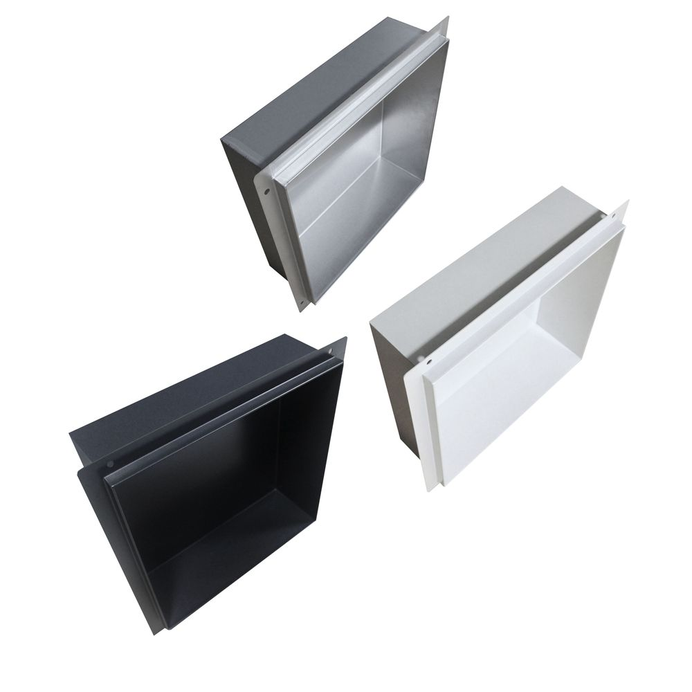BERNSTEIN Frameless Wall Niche BS303010 - 30 x 30 x 10 cm - different colours available – Bild 2