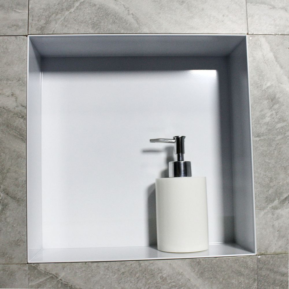 BERNSTEIN Frameless Wall Niche BS303010 - 30 x 30 x 10 cm - different colours available – Bild 9