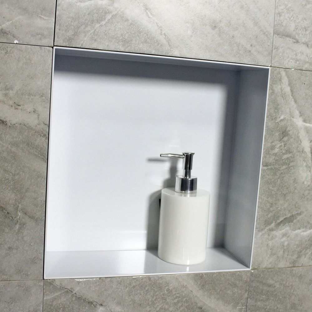 BERNSTEIN Frameless Wall Niche BS303010 - 30 x 30 x 10 cm - different colours available – Bild 10