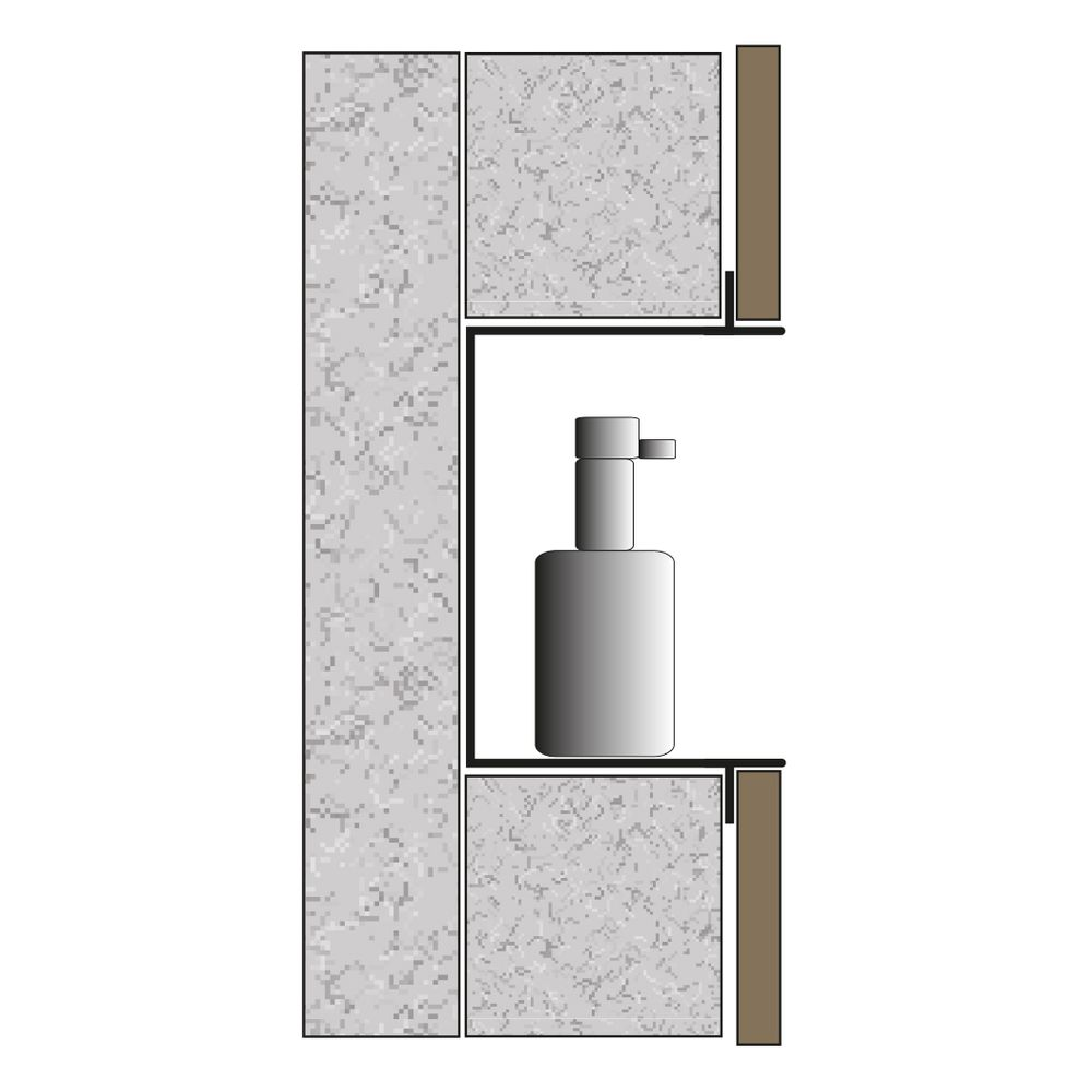 BERNSTEIN Wall Niche storage BS603010 - 60 x 30 x 10 cm - different colours available – Bild 12