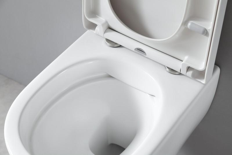 WC suspendu offre spéciale pack économique 3: NT2039 - et bâti-support G3004A avec plaque de déclenchement – Bild 4