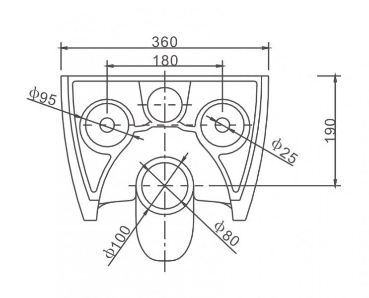 WC suspendu offre spéciale pack économique 3: NT2039 - et bâti-support G3004A avec plaque de déclenchement – Bild 11