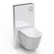 Shower Toilet BERNSTEIN Basic 1102 - special saving package 6 - and sanitary module for wall-mounted WC - white