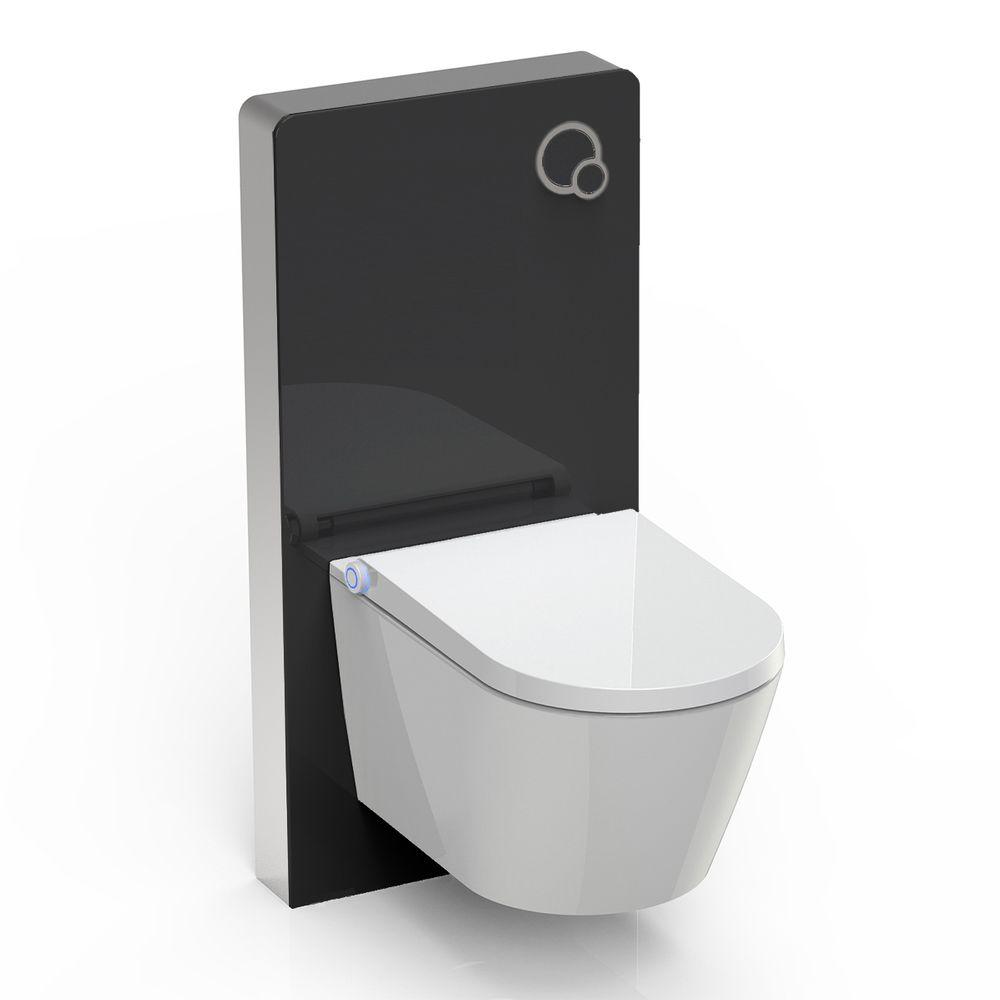 WC lavant BERNSTEIN basic 1102 offre spéciale pack économique 7 avec - module sanitaire 805 et plaque de déclenchement – Bild 1