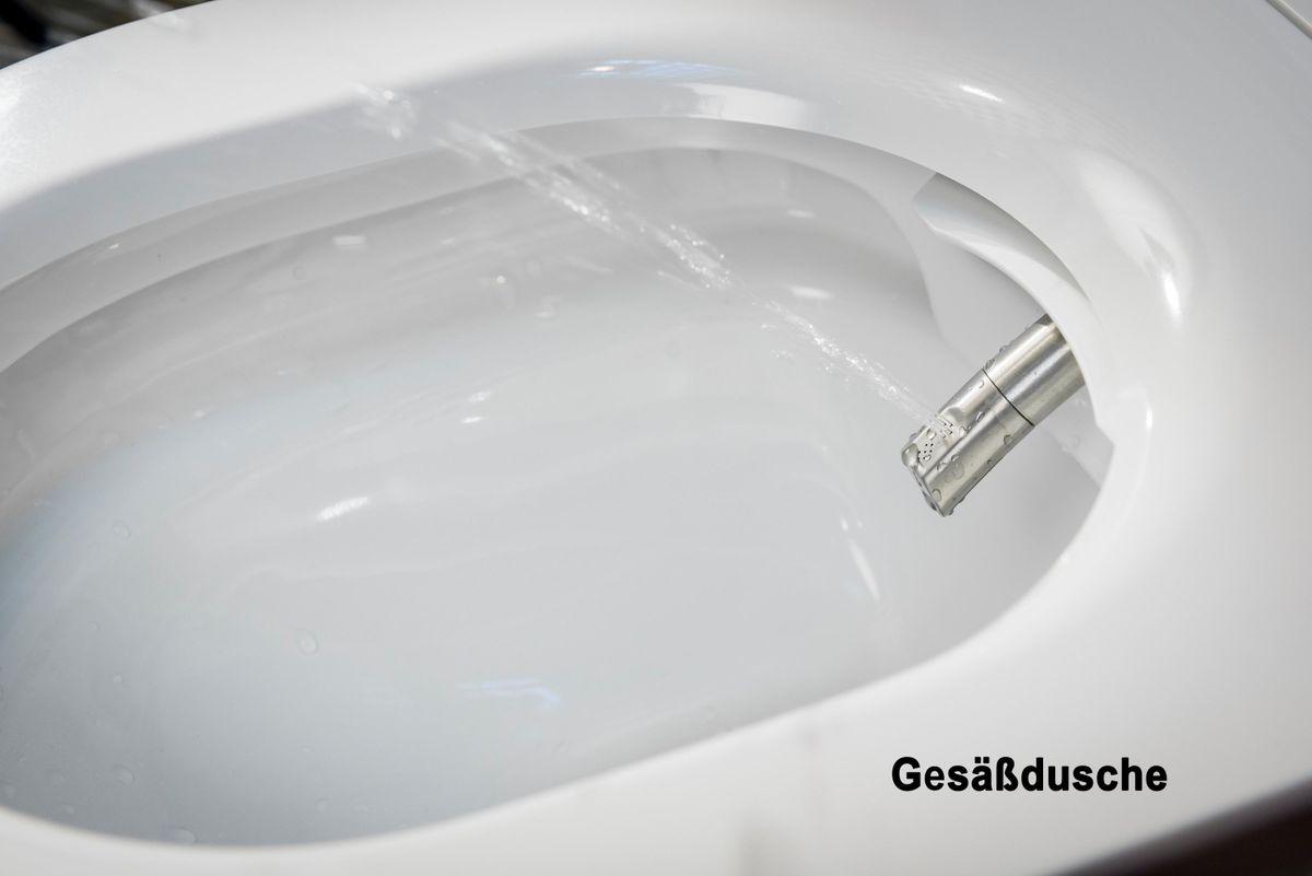 WC douche BERNSTEIN DUSCH-WC PRO+ 1102 offre spéciale pack économique 8 avec module sanitaire 805 et plaque de déclenchement – Bild 3