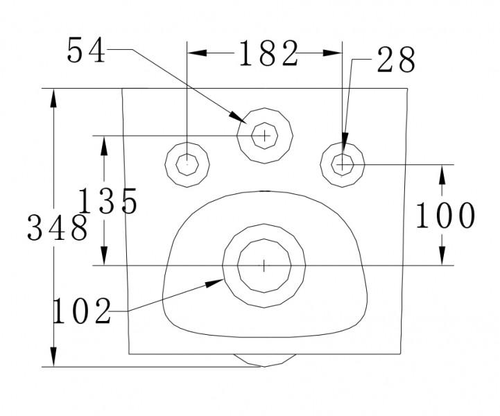 WC suspendu offre spéciale pack économique 20: B-8030 - bâti-support G3008 avec plaque de déclenchement à choix – Bild 10