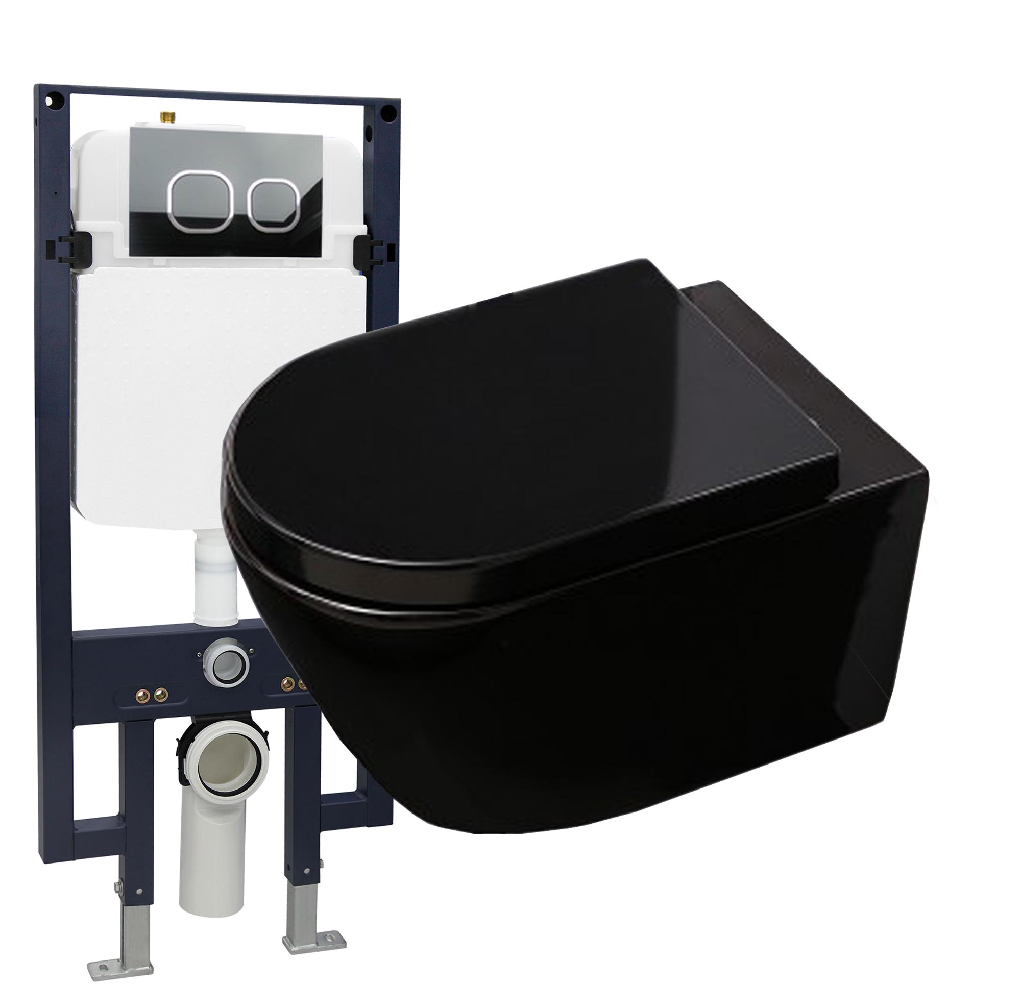 Wc Suspendu 4 Pieds wc suspendu offre spéciale pack économique 21: b-8030 noir