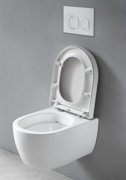 WC suspendu offre spéciale pack économique 22: NT2039 - et bâti-support G3008 avec plaque de déclenchement – Bild 3