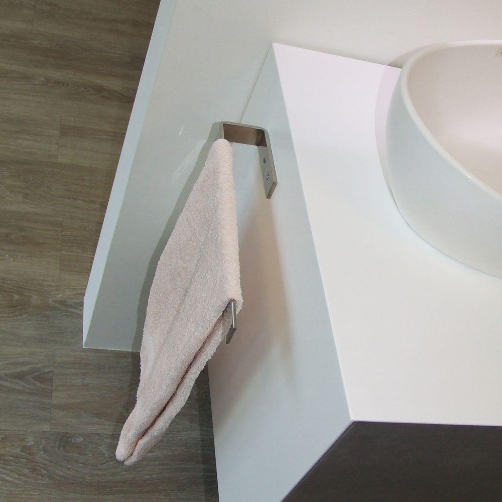 Handtuchhalter HH39 Edelstahl Korpusmontage - Handtuchstange für Badmöbel - Farbe wählbar – Bild 5