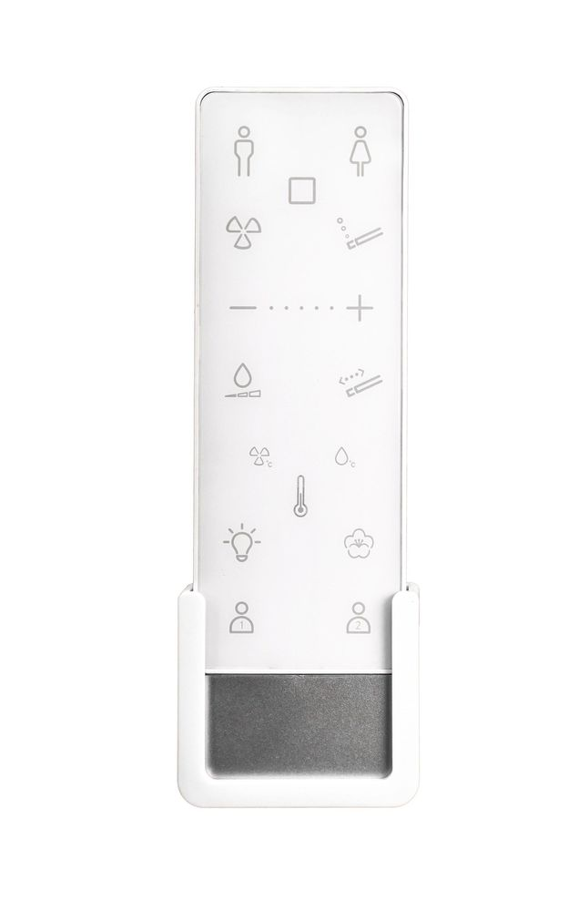 WC-Komplettpaket 26: BERNSTEIN DUSCH-WC PRO+ 1104 und Soft-Close Sitz mit Vorwandelement G3004A und Betätigungsplatte vorne – Bild 6