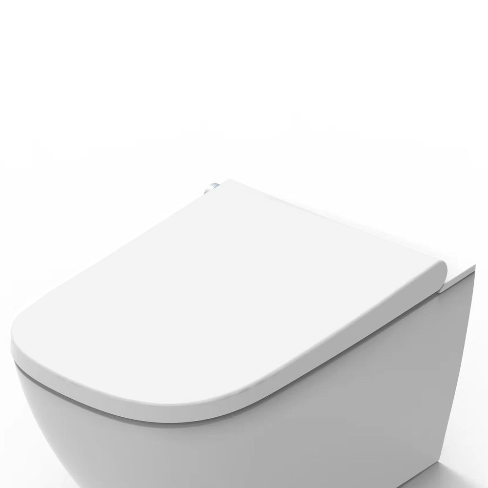 Shower toilet BERNSTEIN Basic 1104 - toilet integrated bidet function - white - rimless - japanese WC – Bild 4