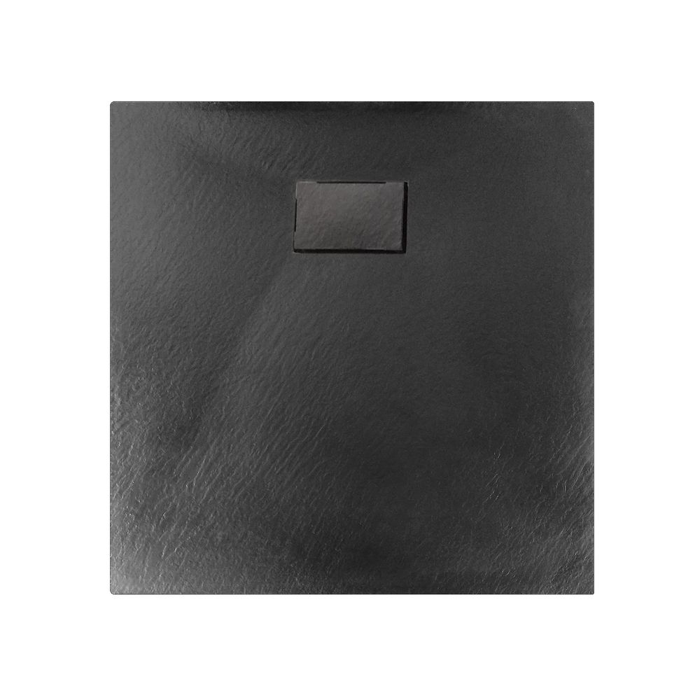 SMC Shower Tray - GT Serie - Anthracite - Width 80cm - 3,7 cm high - optional accessories – Bild 1