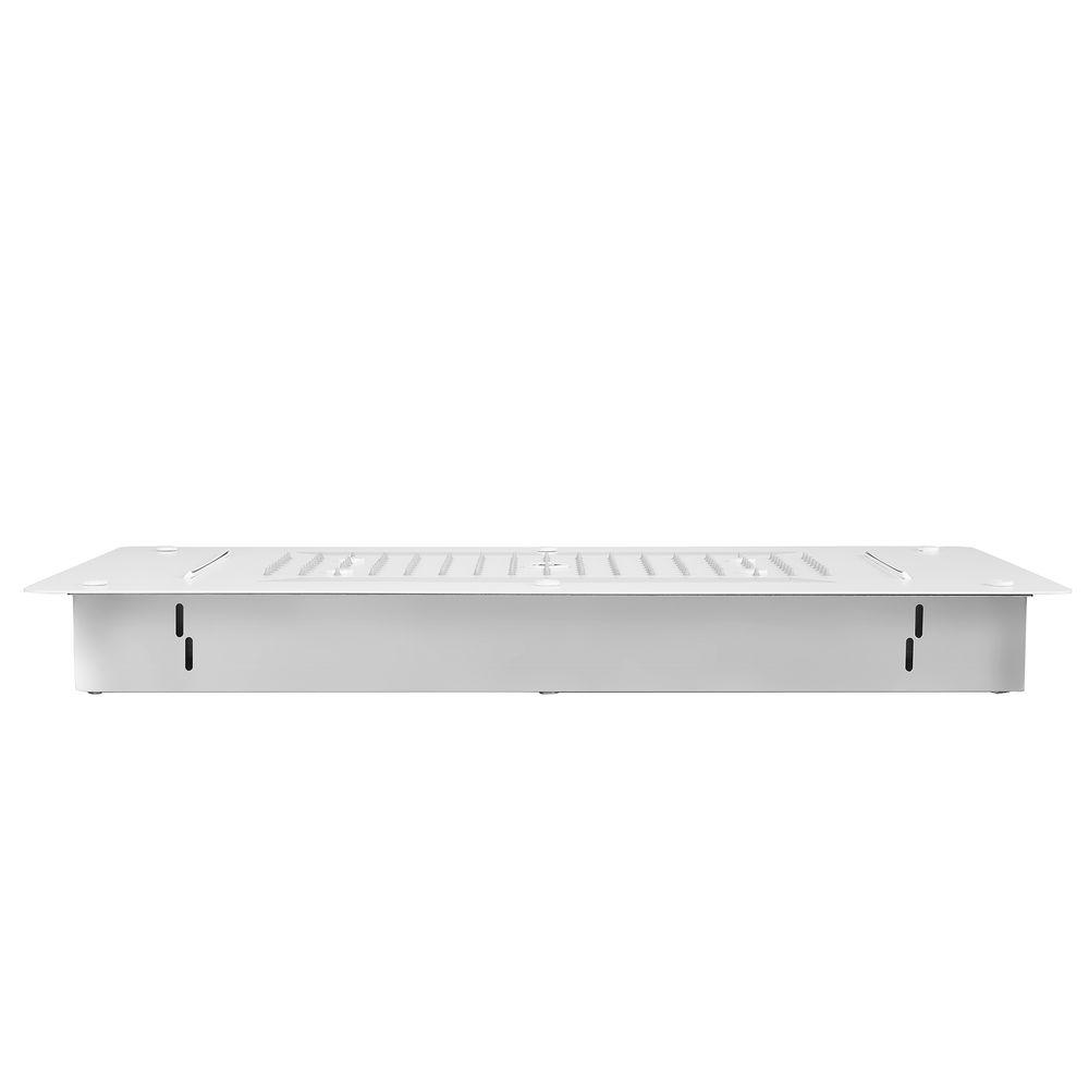 XXL-Regendusche Edelstahl-Deckenbrause DPG5030 superflach weiß matt - 70 x 38 cm - Deckeneinbau – Bild 3