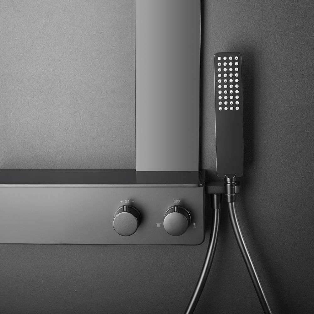 Thermostatic Shower System NT038 Pro - Made od Stainless Steel  - Matt Black Finish – Bild 8