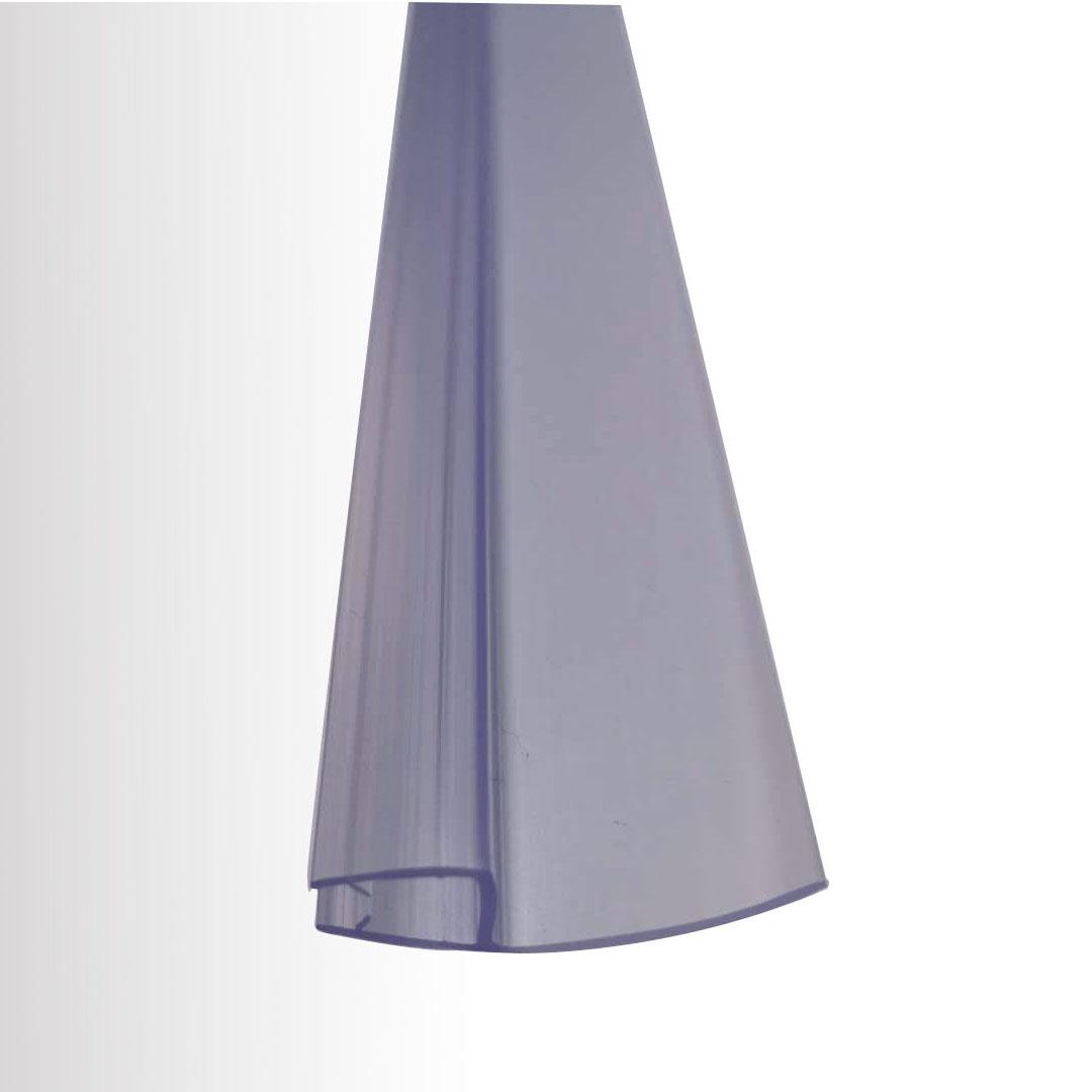 Duschdichtung Abweisprofil zwischen den Scharnieren - für BERNSTEIN Duschkabinen EX412, EX415 - Glasstärke 8 mm