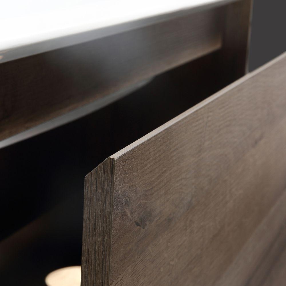 Badmöbel-Set Freya 900 Holz-Optik mit LED Beleuchtung – Optional mit Spiegel – Bild 7