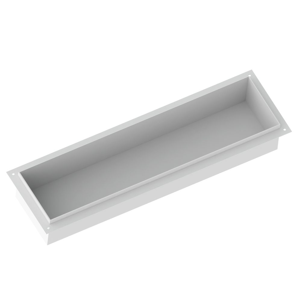 BERNSTEIN Frameless Wall Niche BS156010 - 15 x 60 x 10 cm - different colours available – Bild 5