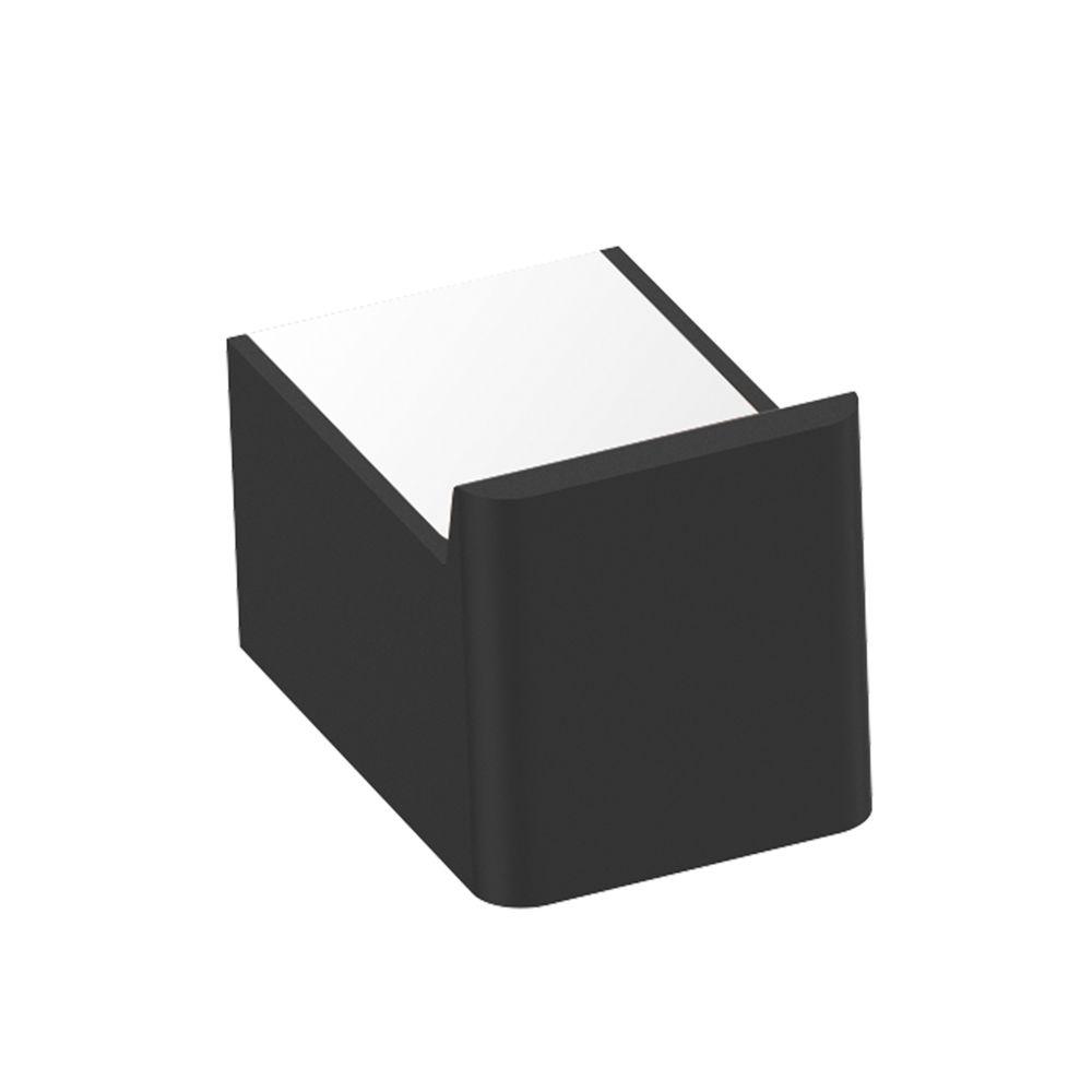 Moderner Handtuchhaken SDLHK in Schwarz matt aus Messing - Serie LINEAR  – Bild 1