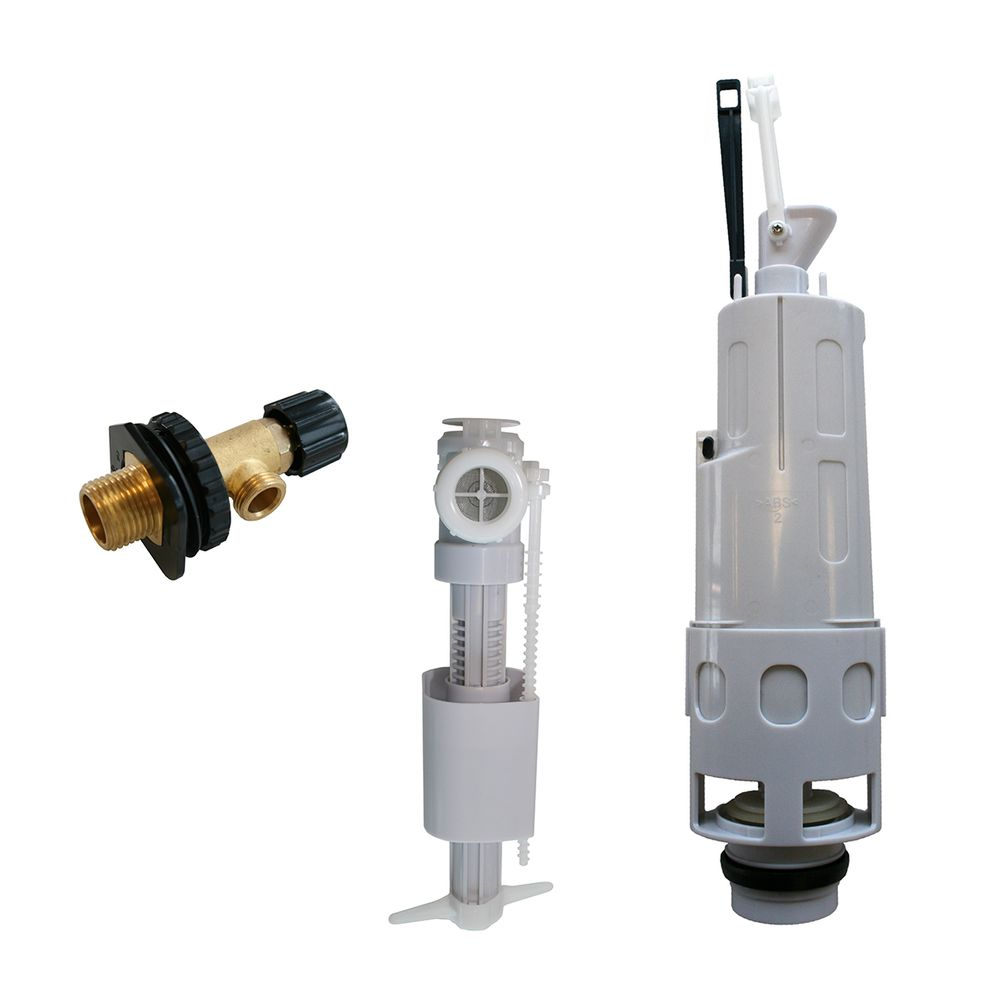 Spare part Dual Flush siphon bell - 3-piece spare parts - for G3004A support frame  – Bild 1