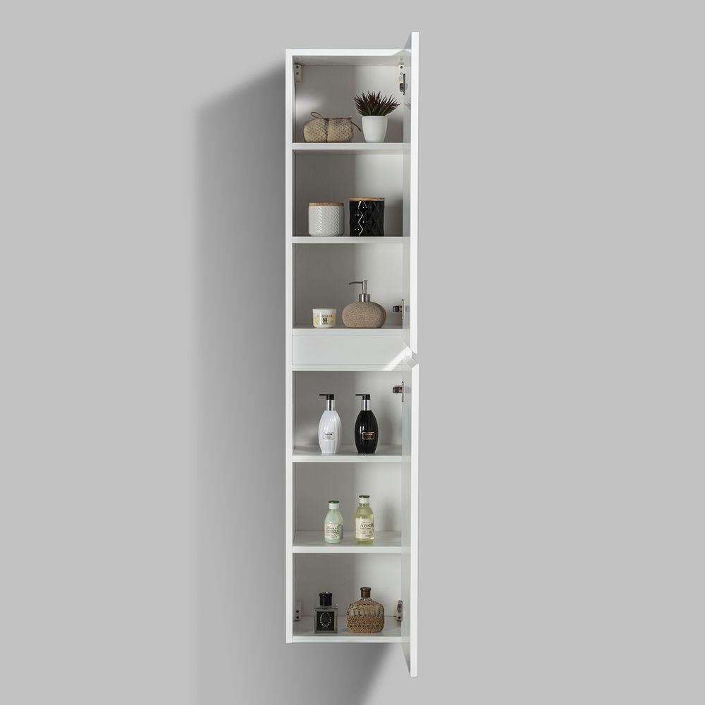 Seitenschrank für Badmöbel Set Luna - verschiedene Farben erhältlich – Bild 2