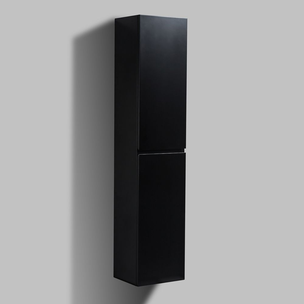 Bathroom Furniture set Luna 600 - available in different colours - optional wall mounted side cabinet and mirror – Bild 10
