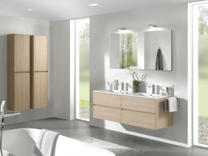 Bathroom Furniture Set EDGE 1200 - available in different colours - optional mirror cabinet and Storage Unit – Bild 21