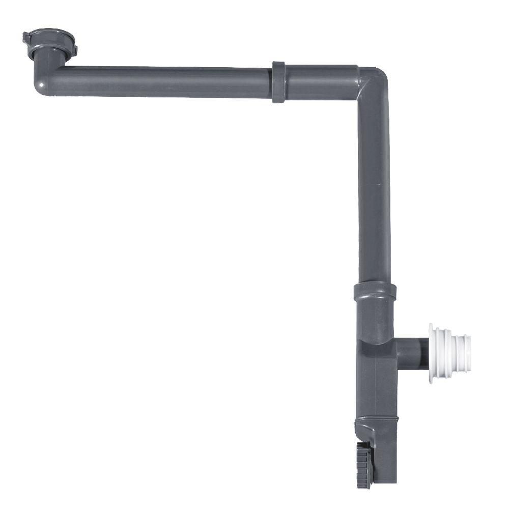 Raumsparsiphon 2050 - Geruchsverschluss für Waschbecken mit 1 1/4 Zoll-Anschluss – Bild 1