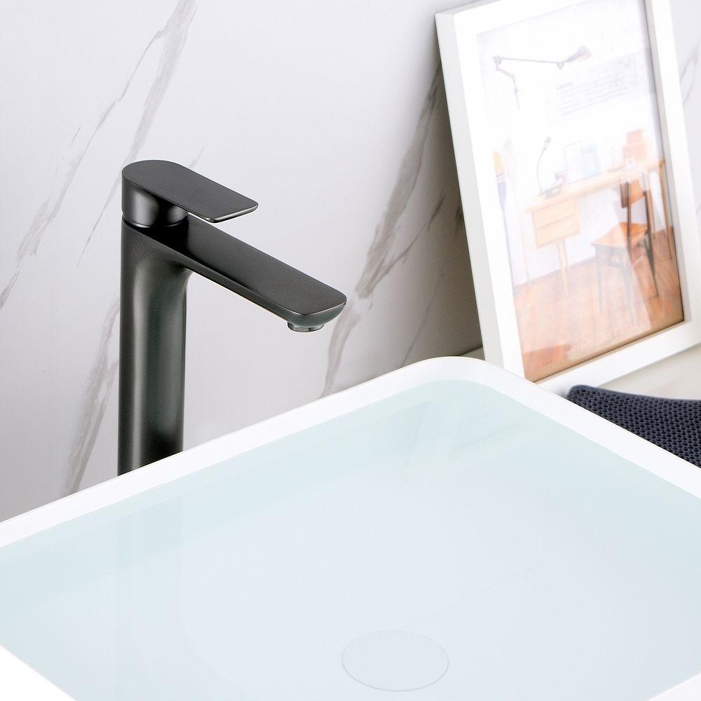 Hochwertige Waschtischarmatur Armatur Badarmatur 4025G - Farbe Gunmetal – Bild 5