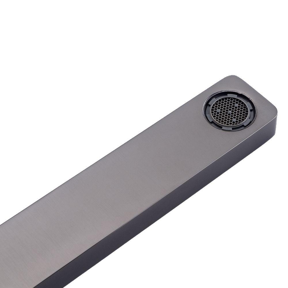 Unterputz Armatur Badarmatur Wandarmatur 9908G - Farbe Gunmetal - inkl. Unterputz-Grundkörper – Bild 2