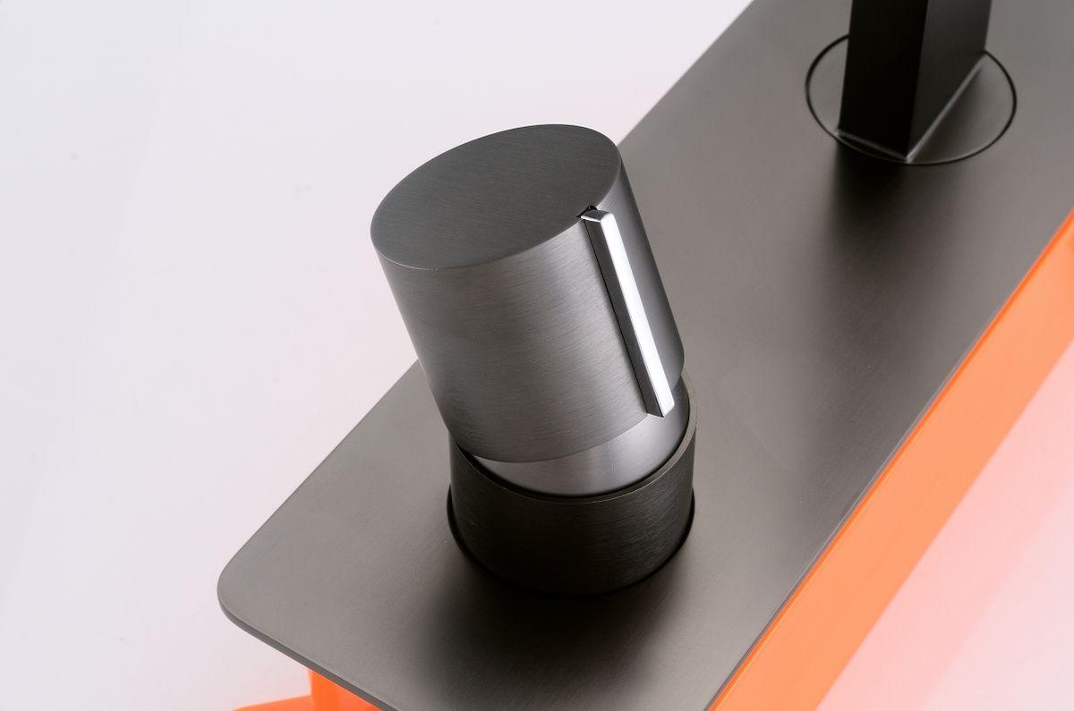 Unterputz Armatur Badarmatur Wandarmatur 9908G - Farbe Gunmetal - inkl. Unterputz-Grundkörper – Bild 4