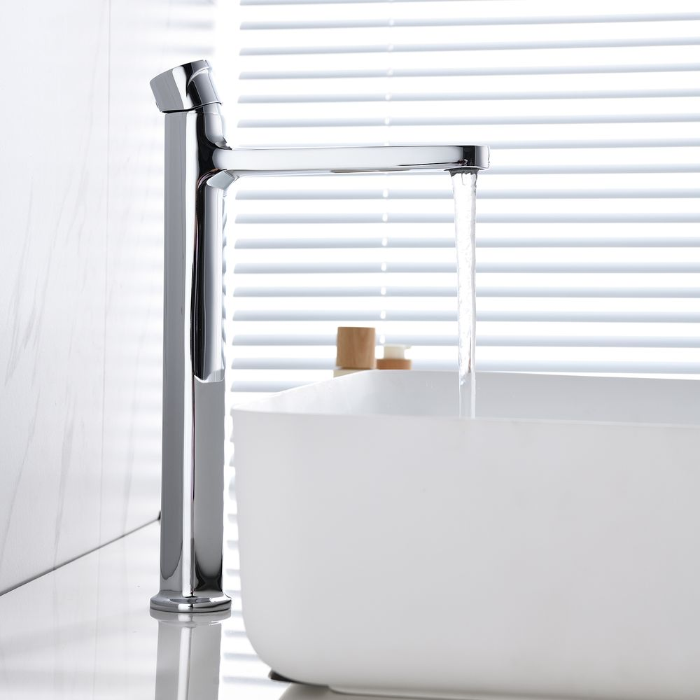 Extended Single Lever Basin Mixer Tap with rotary knob 8212 - different colours available  – Bild 5