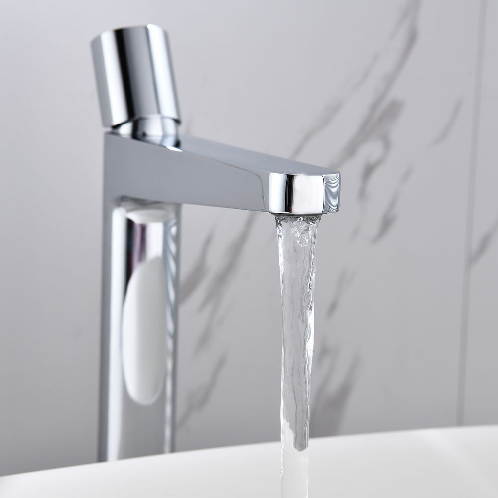 Extended Single Lever Basin Mixer Tap with rotary knob 8214 - different colours available  – Bild 6